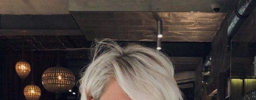 Стрижка боб с косой челкой (30 фото)