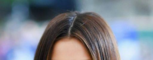 Боб на средние волосы без челки (20 фото)