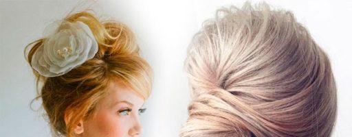 Вечерние прически на волосы до плеч с челкой (26 фото)