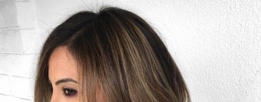 Брондирование на длинные темные волосы (30 фото)