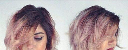 Красивая покраска на средние волосы (30 фото)