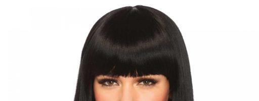 Длинные волосы с челкой: фото брюнетки (30 фото)
