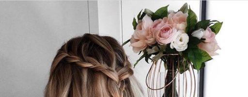 Прическа водопад на длинные волосы (30 фото)