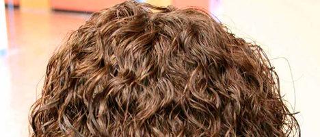 Вертикальная химия на длинные волосы (19 фото)