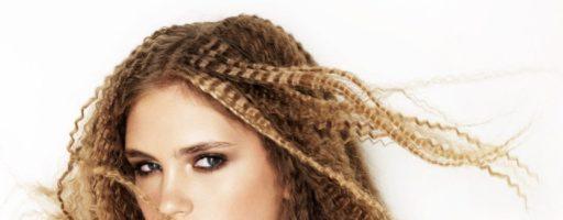 Гофре на средние волосы (19 фото)