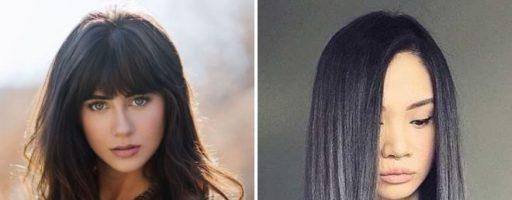 Градуированное каре на длинные волосы (28 фото)