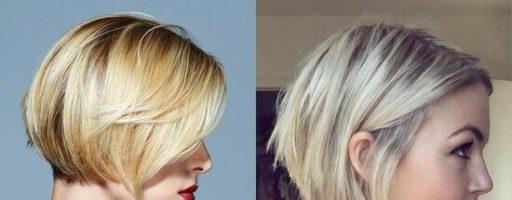 Градуированный боб на короткие волосы (30 фото)