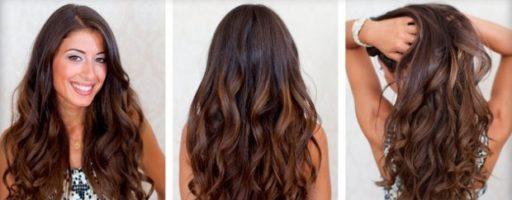 Голливудские локоны на длинные волосы (30 фото)
