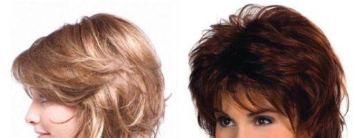 Стрижка гаврош на средние волосы (34 фото)