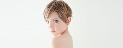 Очень короткая стрижка для девочки (30 фото)