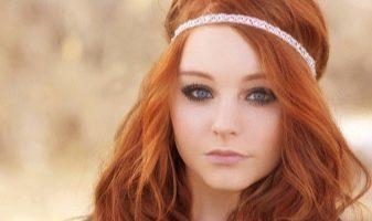 Длинные рыжие волосы (28 фото)