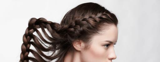 Плетение на длинные волосы (28 фото)