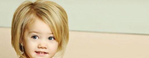Детские челки для девочек (20 фото)