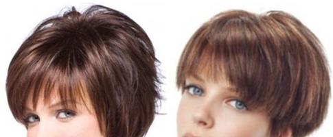 Стрижка дебют на короткие волосы (24 фото)