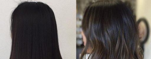 Длинные темные волосы (29 фото)