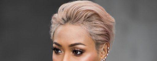 Женская стильная прическа на короткие волосы (29 фото)