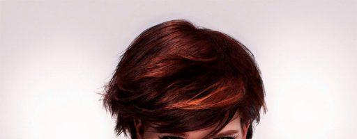 Сочетание женских стрижек на короткие волосы с макияжем для Нового года (30 фото)