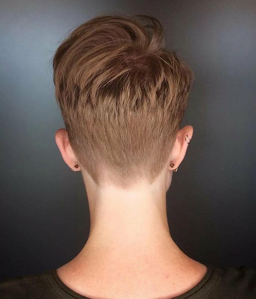 Цвет волос русый фото на коротких волосах дома лучше
