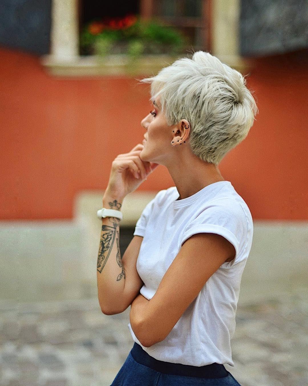 Реальные фото современных стрижек на короткие волосы (25 фото)